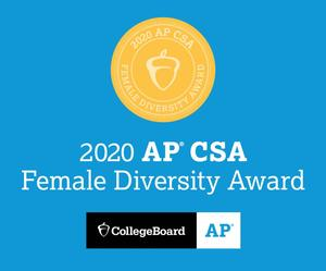 2020 AP CSA Award