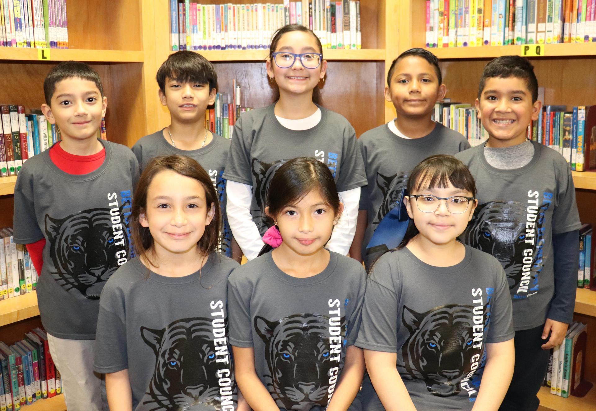 Image of 4th grade SC Reps