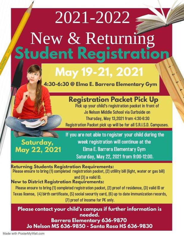 2021 - 2021 Student Registration Featured Photo