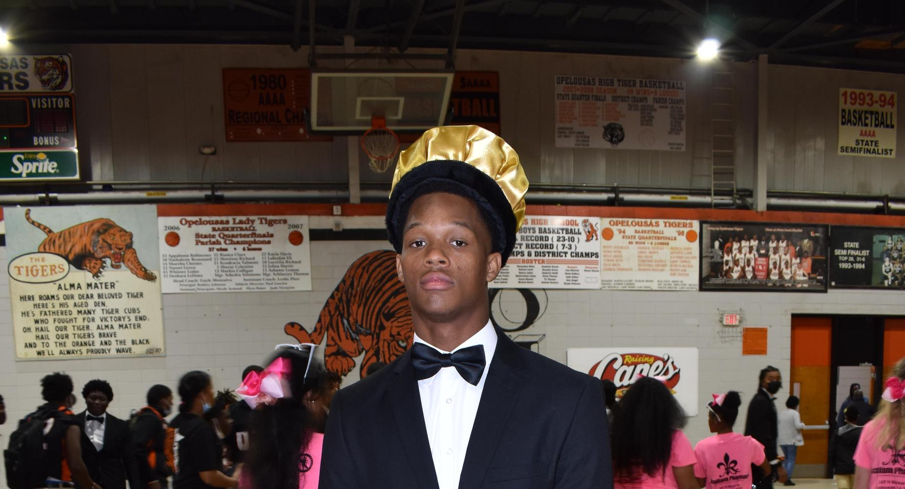 Homecoming King Javonnie Gibson