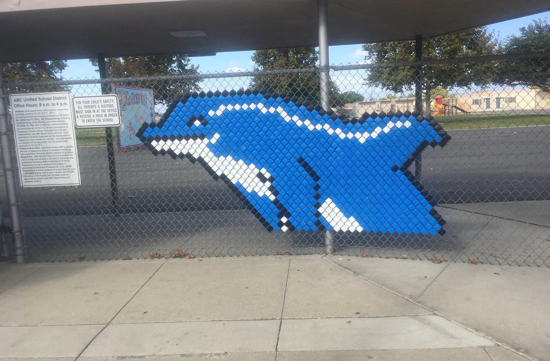 Aloha dolphin school mascot