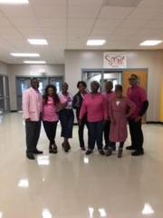 Faculty & Staff wore Pink in support of Breast Cancer Awareness Month!