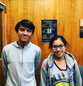 SVHS juniors Leyna Huynh and Winston Le were celebrated for earning standout scores on the PSAT/National Merit Scholarship Qualification Test. Huynh earned a 1400 and Le received a 1370.