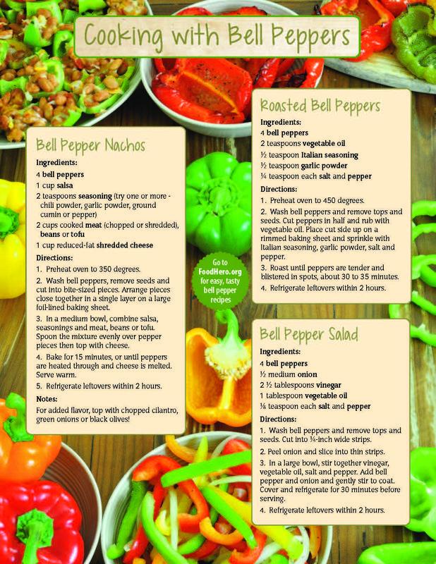 Bell Pepper Handout