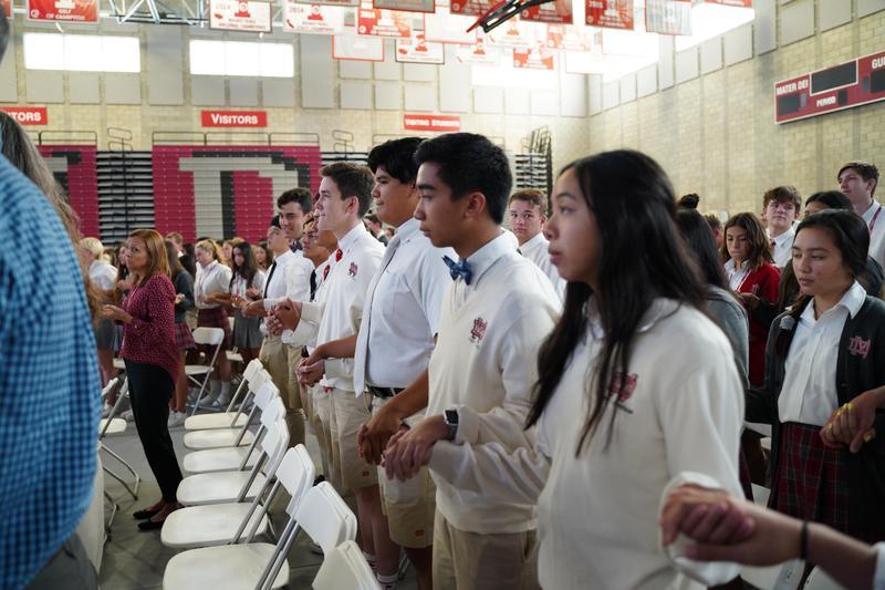 First All-School Mass Featured Photo