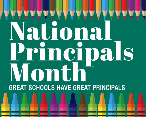 Happy National Principals Month Featured Photo