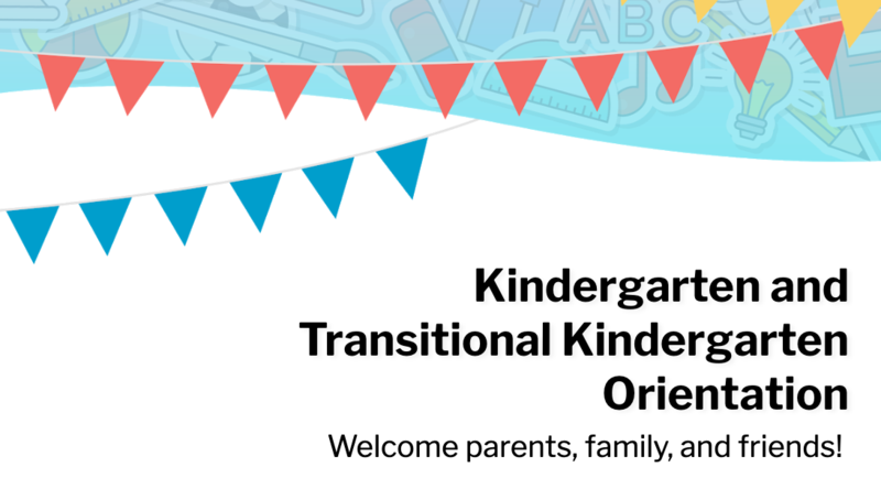 2021-2022 TK and Kinder Parent Orientation Featured Photo