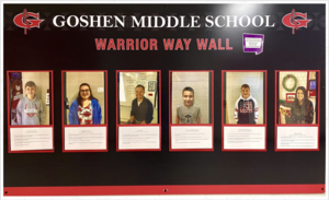 Warrior Way wall winners