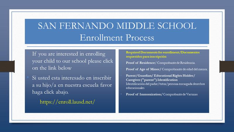 SFMS Enrollment Featured Photo