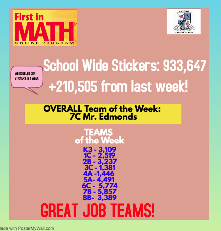 FIRST IN MATH SCHOOL WIDE STICKERS Featured Photo