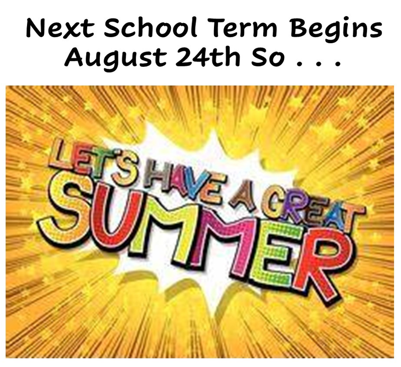 enjoy the summer poster