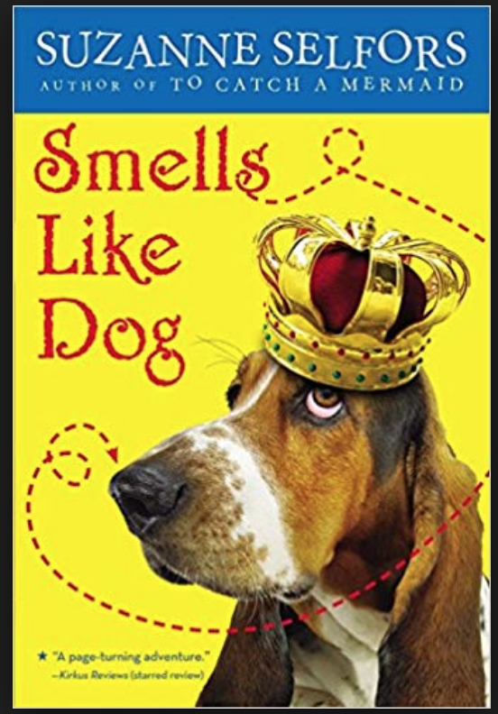 Book Cover Smells Like Dog