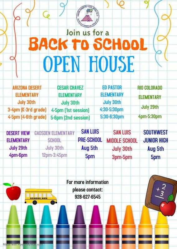 2021-2022 School Open House Information Featured Photo
