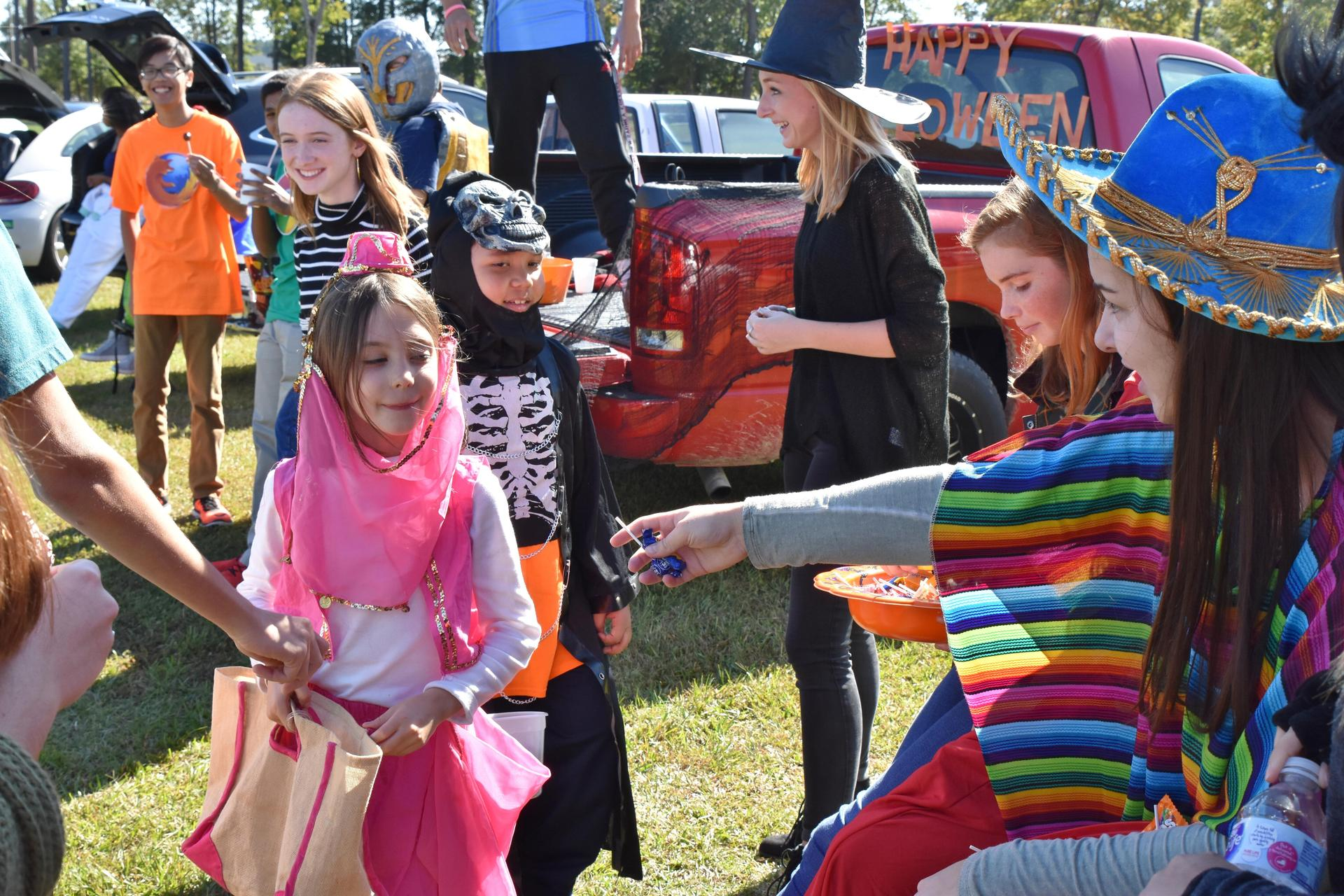 2017 SGA sponsored Trunk or Treat