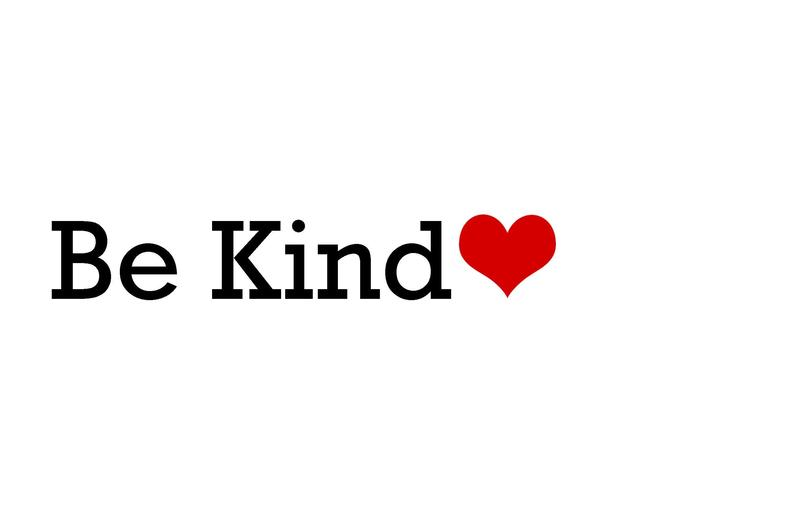 Be Kind with red heart