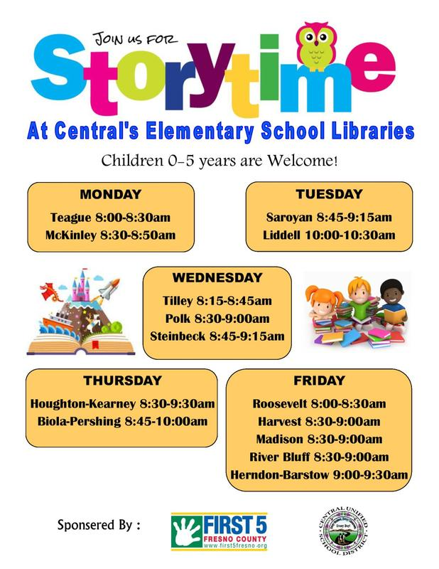 Story Time Flyer