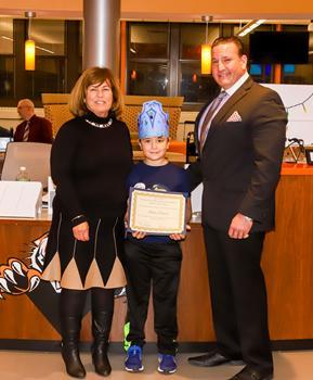 Hatchery Hill School Student of the Month - December 2019 - Steele Ingram