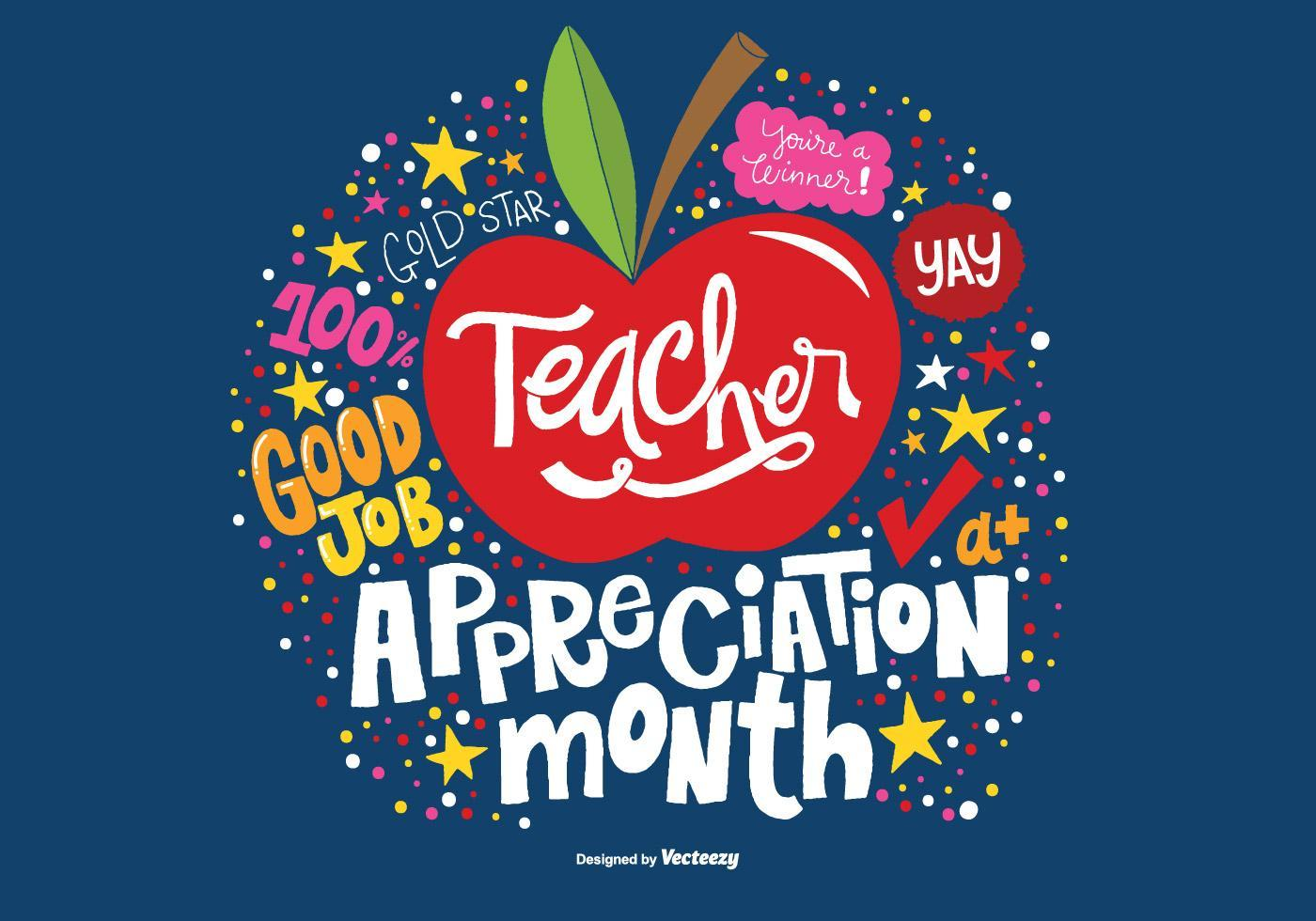 TEACHER APPRECIATION MONTH PROJECTS