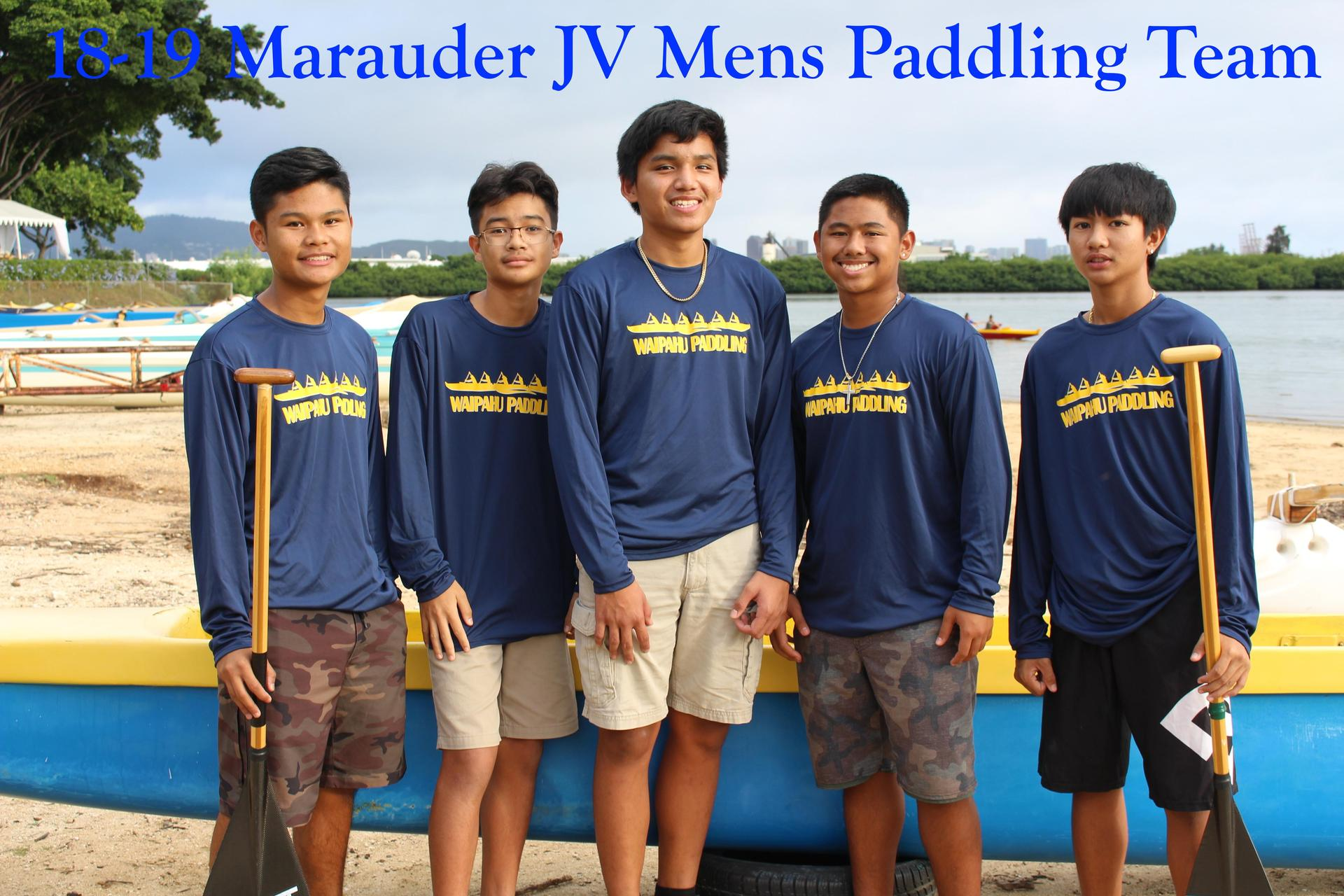 Paddling Boys JV
