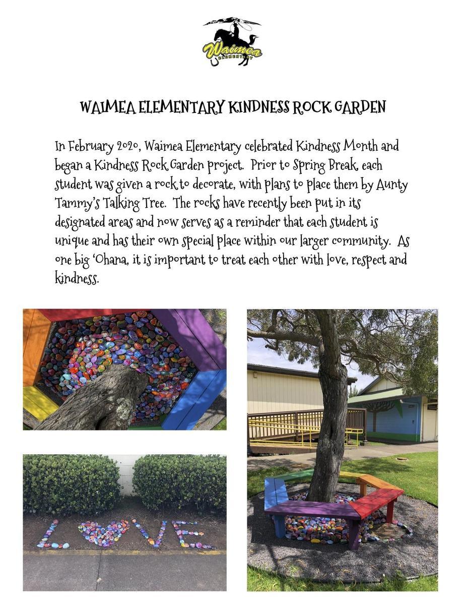 Kindness Rock Garden