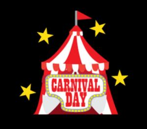Carnival Day sign/circus tent