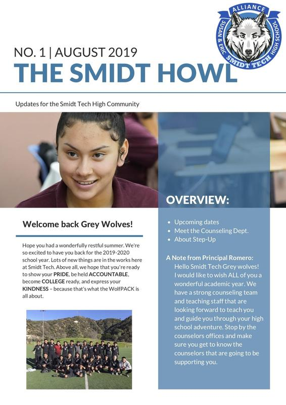 The Smidt Howl - August 2019 Thumbnail Image