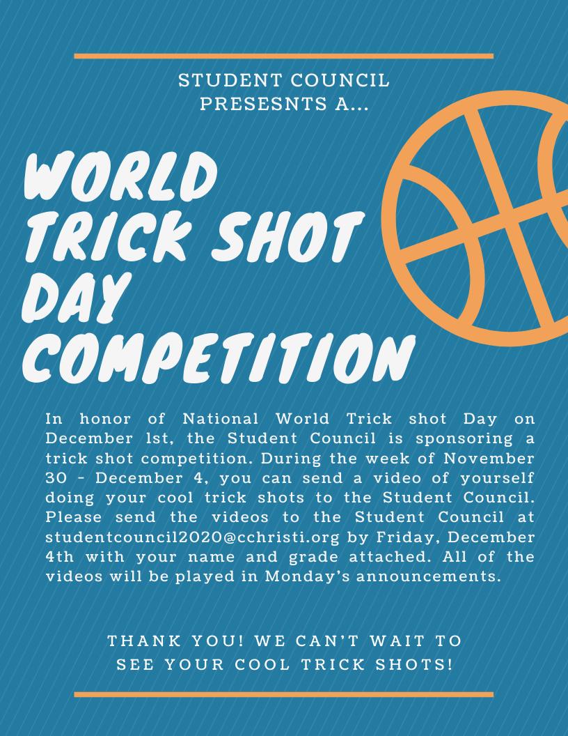 World Trick Shot Day! Image