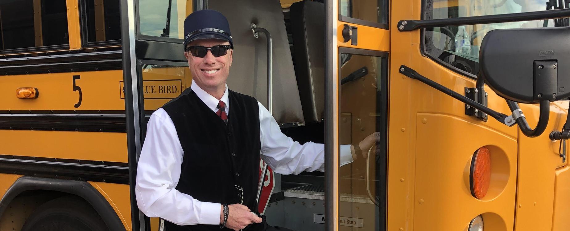 Mr. Lance as Polar Express Conductor