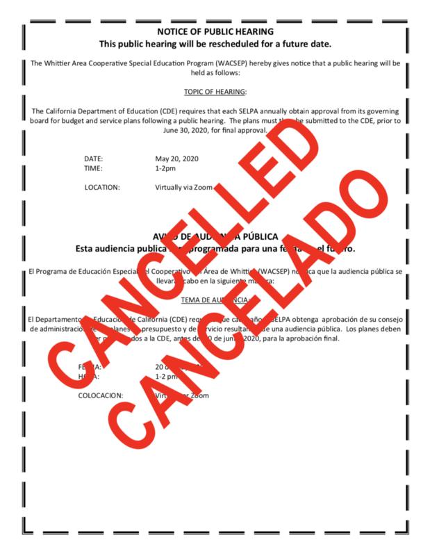 Link to Public Notice Document