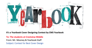Yearbook Contest Ends October 31