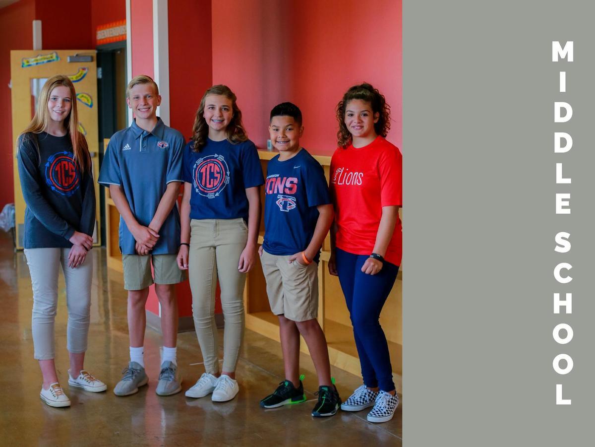 middle school uniforms