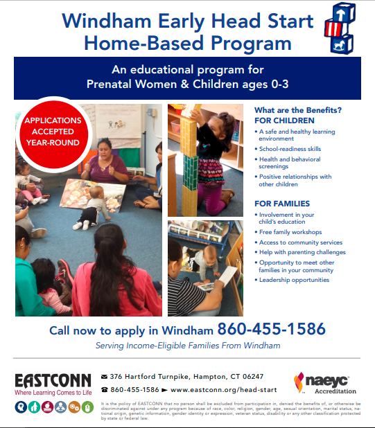 Windham Early Head Start Home Based Program Thumbnail Image