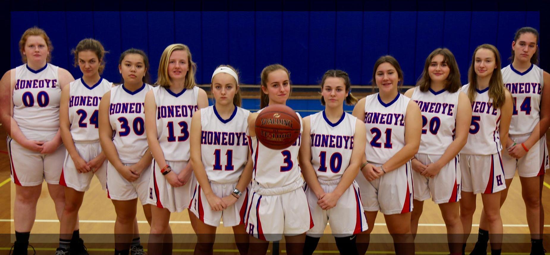 Girls High School Basketball team.