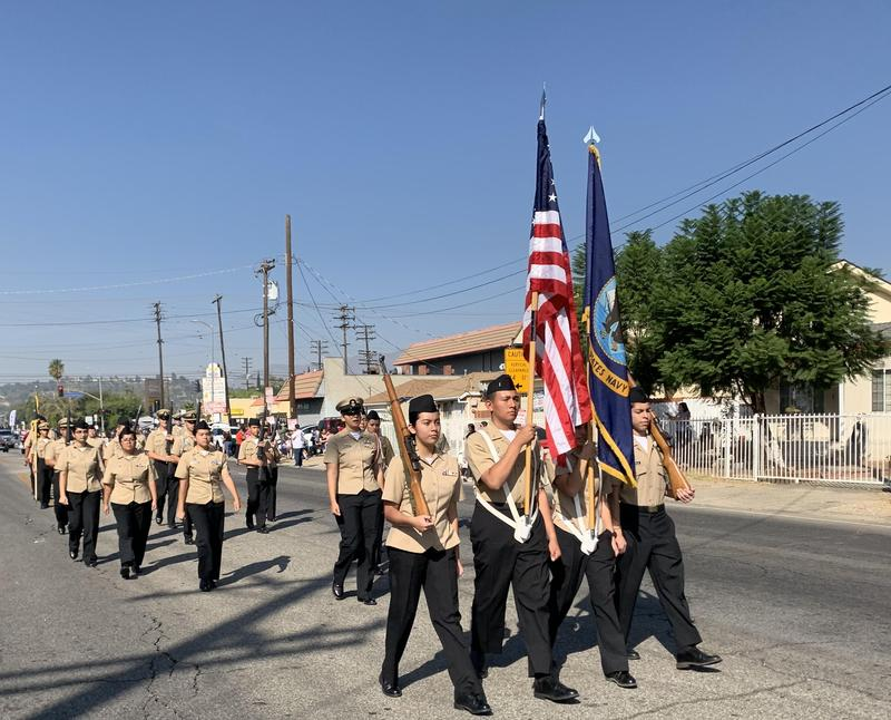 Kennedy ROTC Marches in San Fernando Veterans' Day Parade Featured Photo