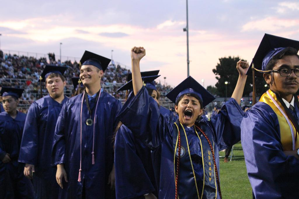 Golden Valley High School graduation