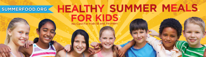 Free summer meals at THJ