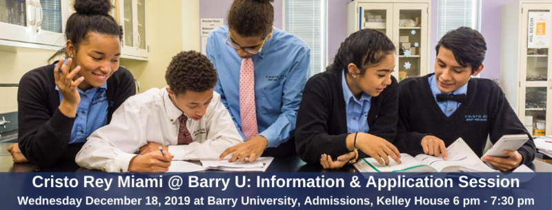 Information Session 12-18-19