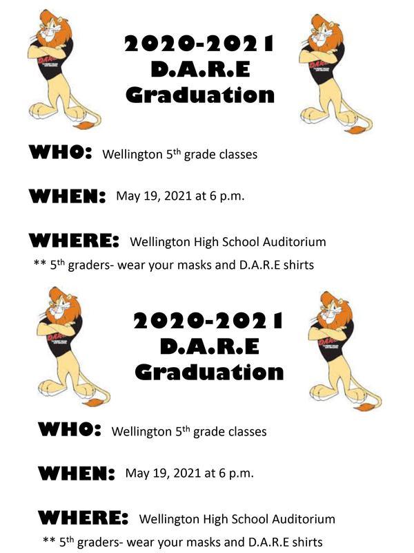 D.A.R.E. Graduation May 19th