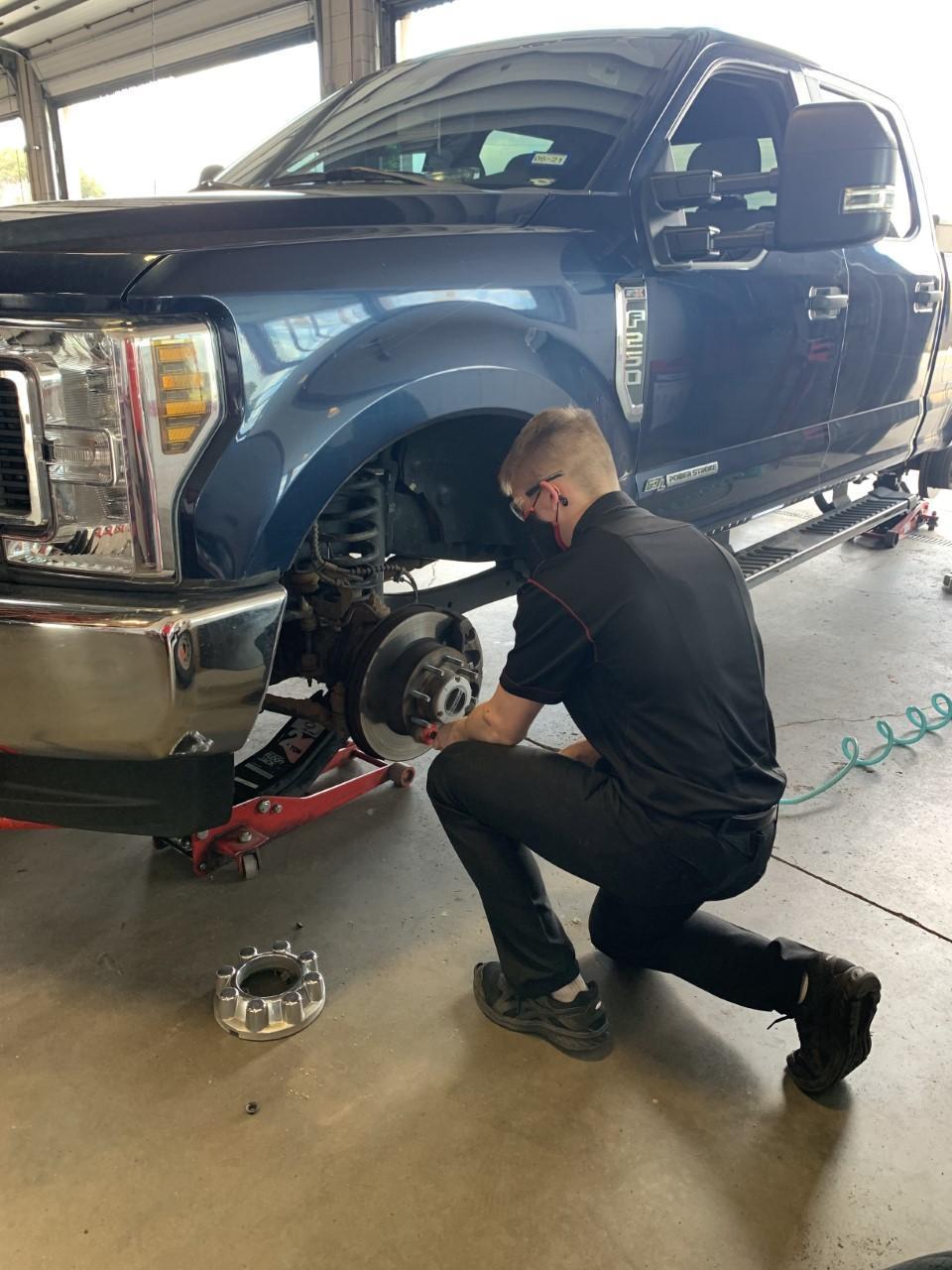 Career Prep Student Braden Hopkins (12th Grader) - Discount Tire
