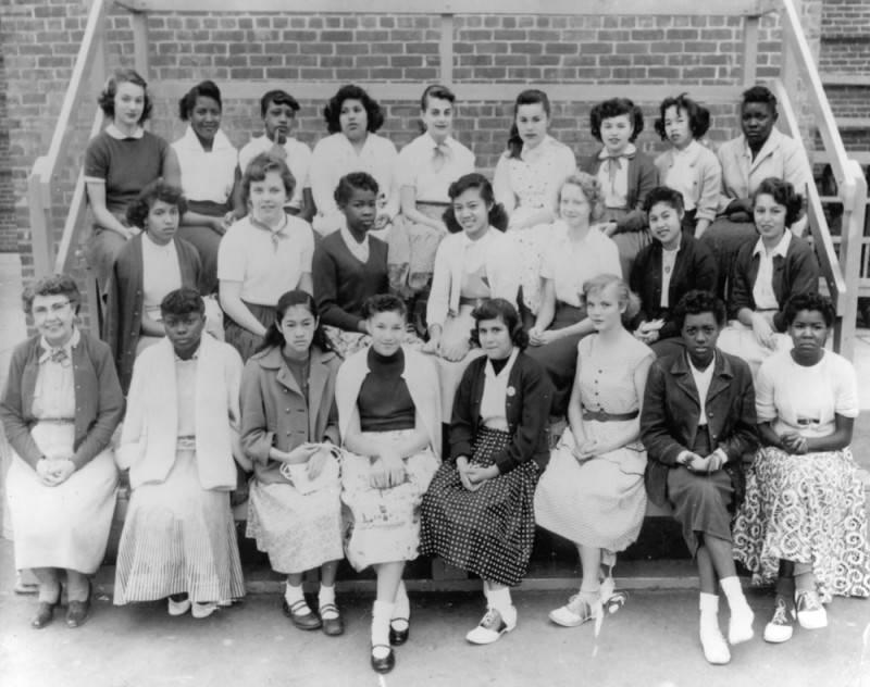 According to the public library records, picture was taken June 1955 at John Adams JR. High School located at 151 West 30th Street. Home room teacher, Mrs. E. Hasencamp grade 8A.