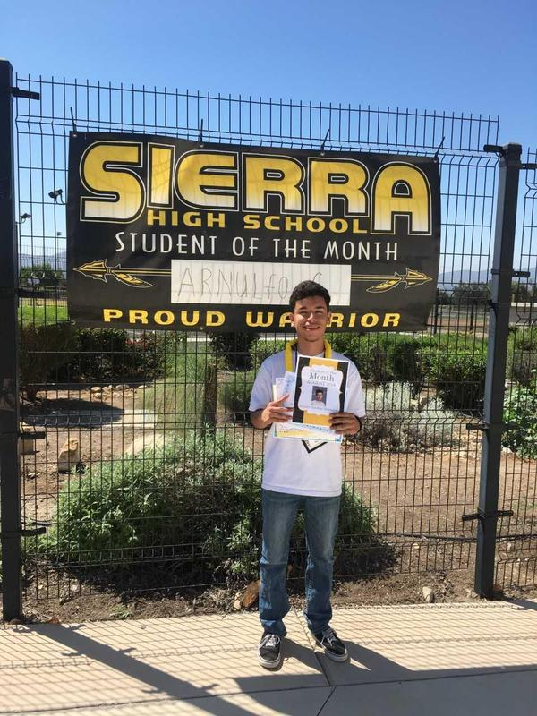 Student of the Month Featured Photo