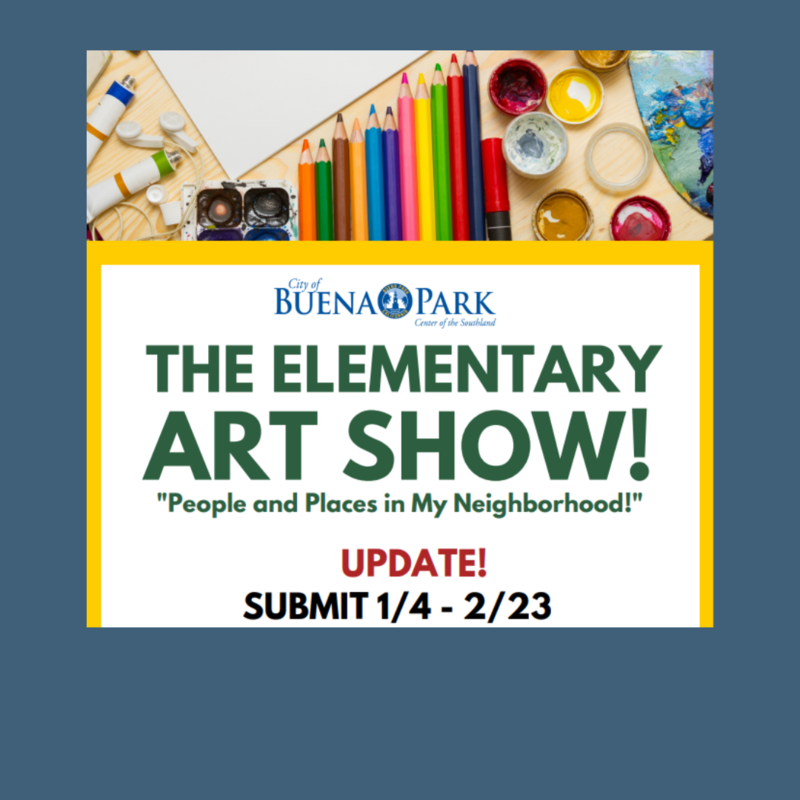 City of Buena Park Elementary Art Show