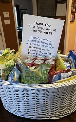 goodies from ELCA for first responders