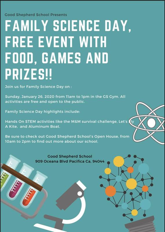 Science Day Flyer