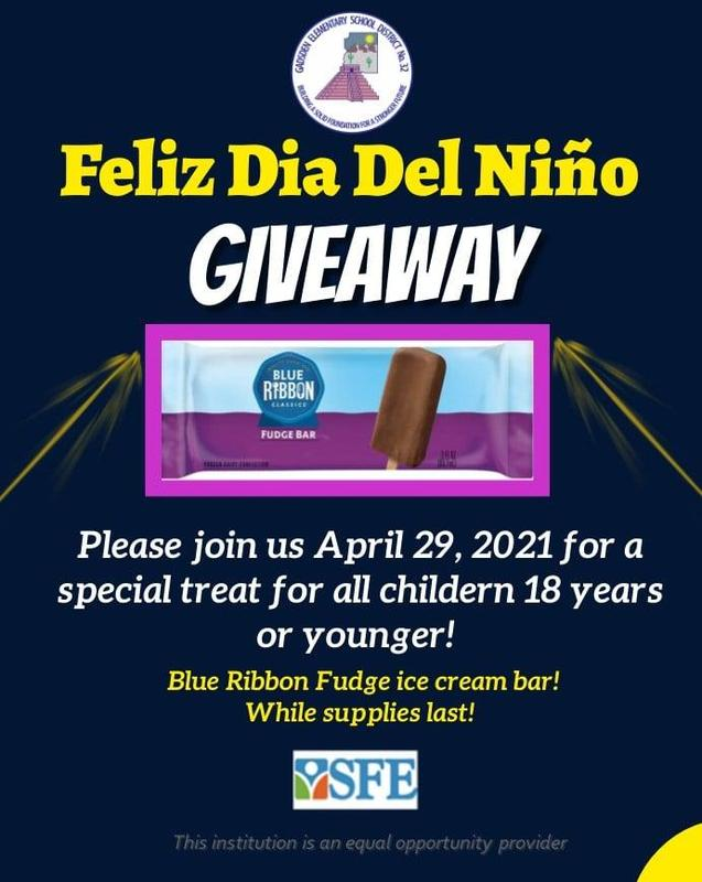¡Join us for a delicious treat to celebrate El Día del Niño! Featured Photo
