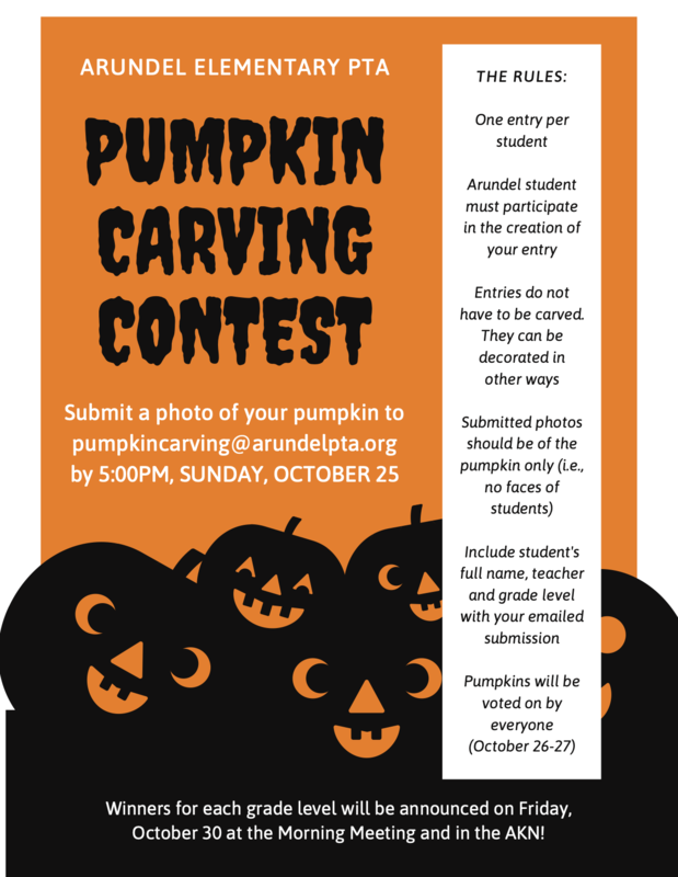 Arundel Pumpkin Carving Contest Featured Photo