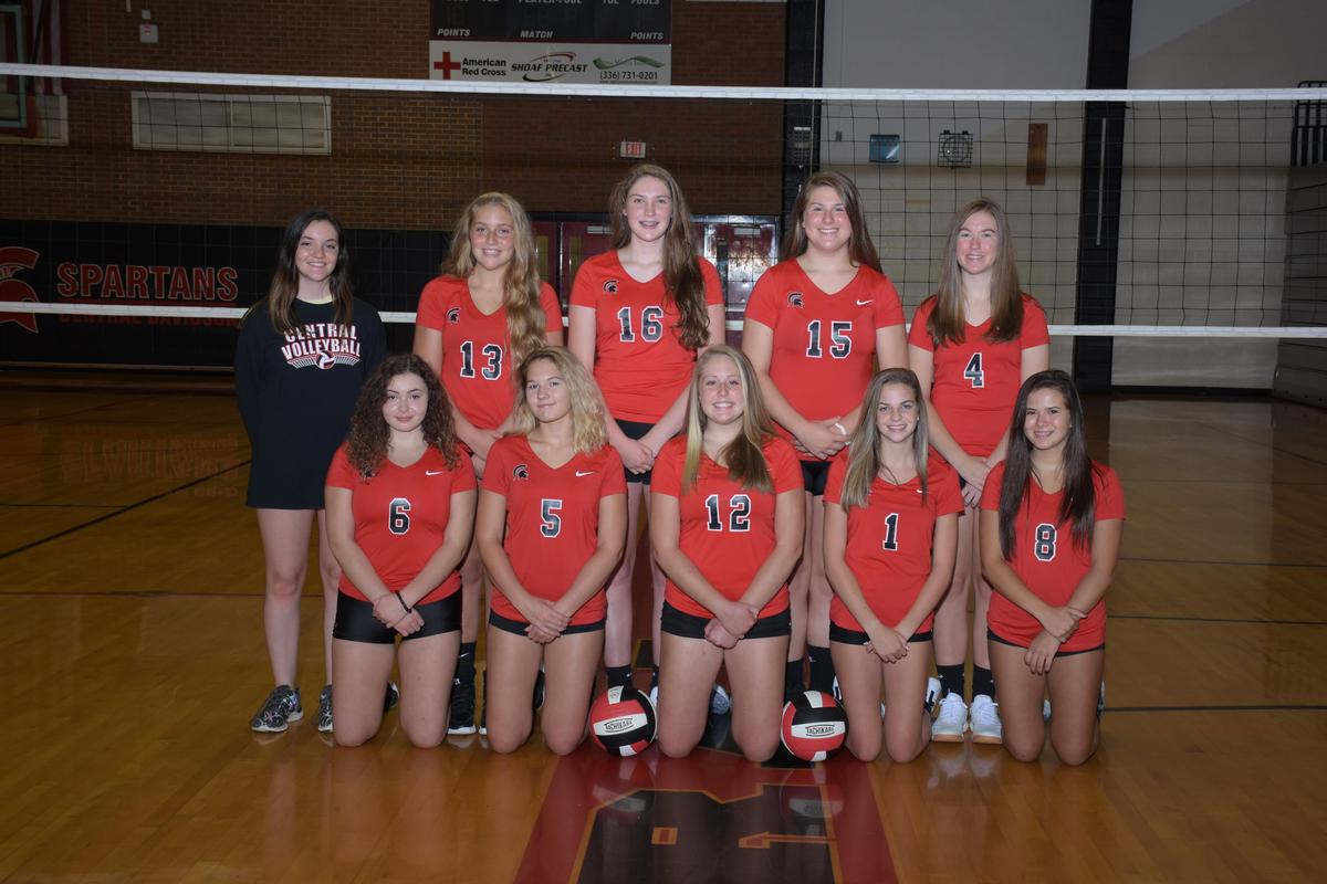 Volleyball – Athletics – Central Davidson High School