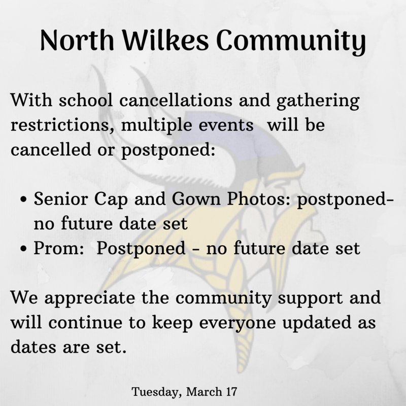 cancellations and postponements