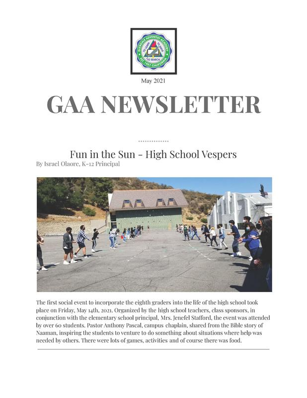 May Newsletter Featured Photo