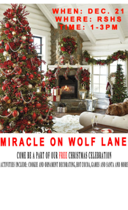 miracle on wolf lane flyer